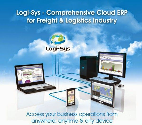 Cloud ERP End to End Solution for Logistics Operation #softlink #global #logistics #software #freight #forwarding