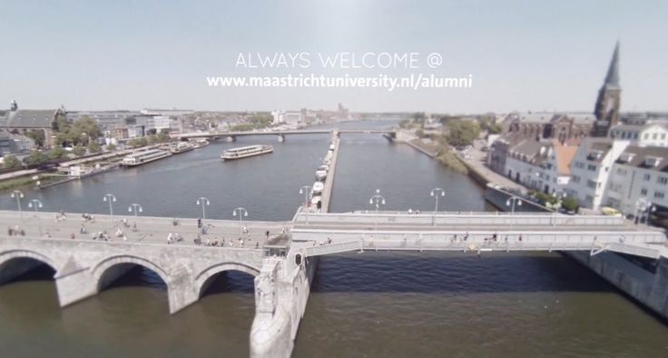 Live vicariously through the Maastricht Alumni video, get a sense of nostalgia or welcoming from the scenes of Limburg.  #studyabroad #travel #europe #maastricht #architecture