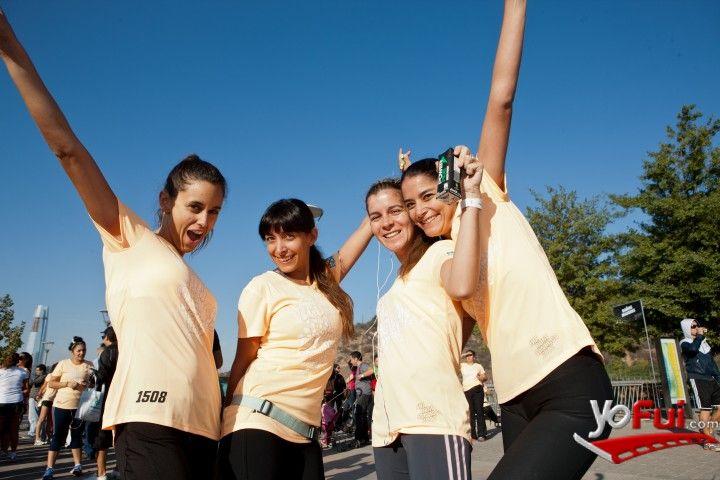 YoFui.com: Isabel Hrepich, Paulina Bustos, Constanza Knakal, Annalise Sapunar en Corrida Nike sólo para ellas: She Runs Santiago , Centro Cívico de Vitacura, Santiago (Chile)