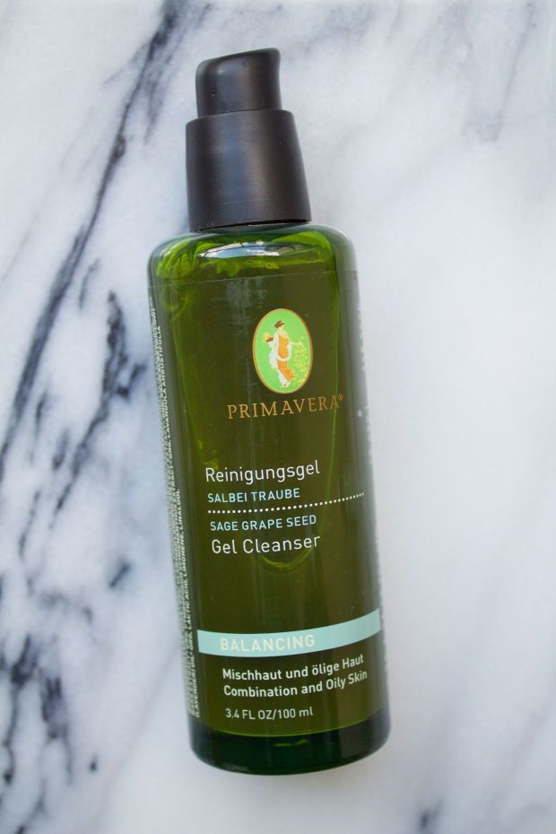 Primavera Life Balancing Gel Cleanser. http://beautyeditor.ca/2015/11/09/best-natural-organic-skincare-products