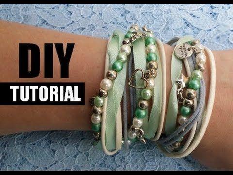 ▶ Armbandjes Maken Wikkelarmband DIY Video Tutorial - YouTube