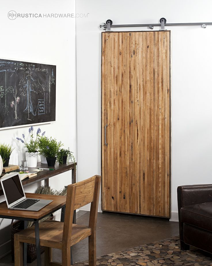 Vertical Rip Top Barn Door Rustica Hardware Boudoir