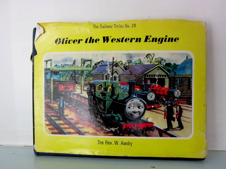 1st Edition Thomas the Tank Engine book, Oliver the western engine, Railway series no. 24, steam engine, vintage children's book. by thevintagemagpie01 on Etsy