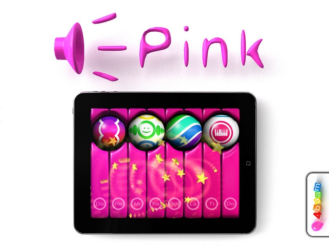 PianoBall - Solfege syllables. Say... Pink!