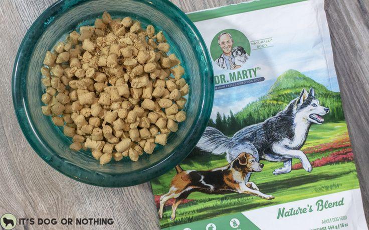 Freezedried raw dog food from dr marty dog food