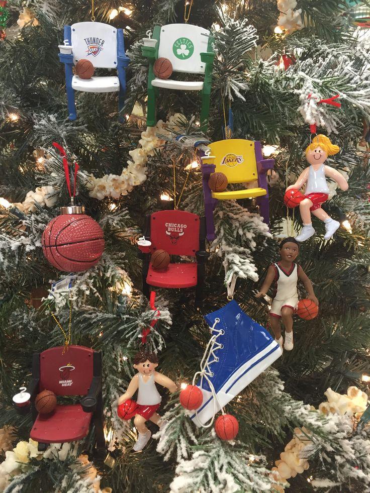 9 Best Nba Basketball Ornaments Images On Pinterest Christmas