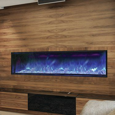 Panorama Series Built-in Wall Mount Electric Fireplace