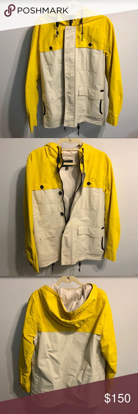 Coach Men's Sailing Jacket *SUPER RARE* Coach Men's Sailing Jacket in Yellow/Khaki. This style has been discontinued so it's no longer available in stores. NWT; NEVER WORN. Original retail $595. Any questions feel free to ask! Coach Jackets & Coats Utility Jackets