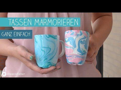 DIY Tassen marmorieren