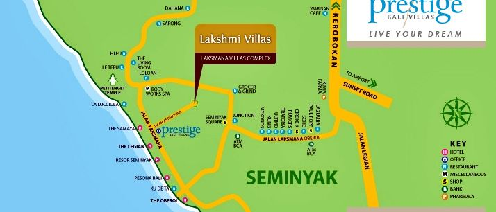 http://prestigebalivillas.com/bali_villas/lakshmi_villas/5/map/ LOCATION MAP - LAKSHMI VILLAS BALI
