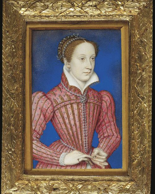Royalty in Art . . Mary, Queen of Scots . circa 1558, by François Clouet . . In 1564 Sir James Melville, Ambassador of Mary, Queen of Scots (1542–87), ...