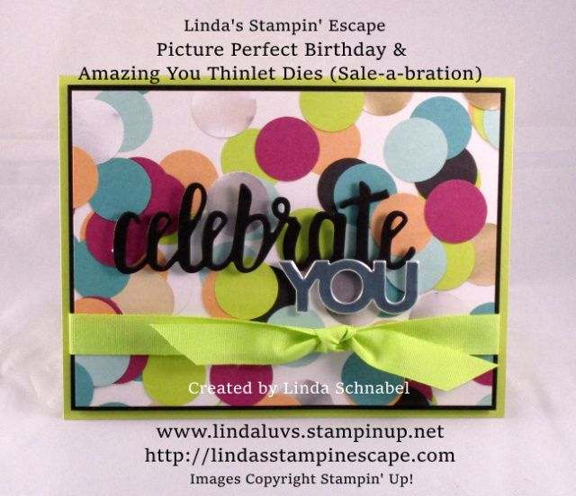 Two for Tuesday: Picture Perfect Party | Linda's Stampin' Escape