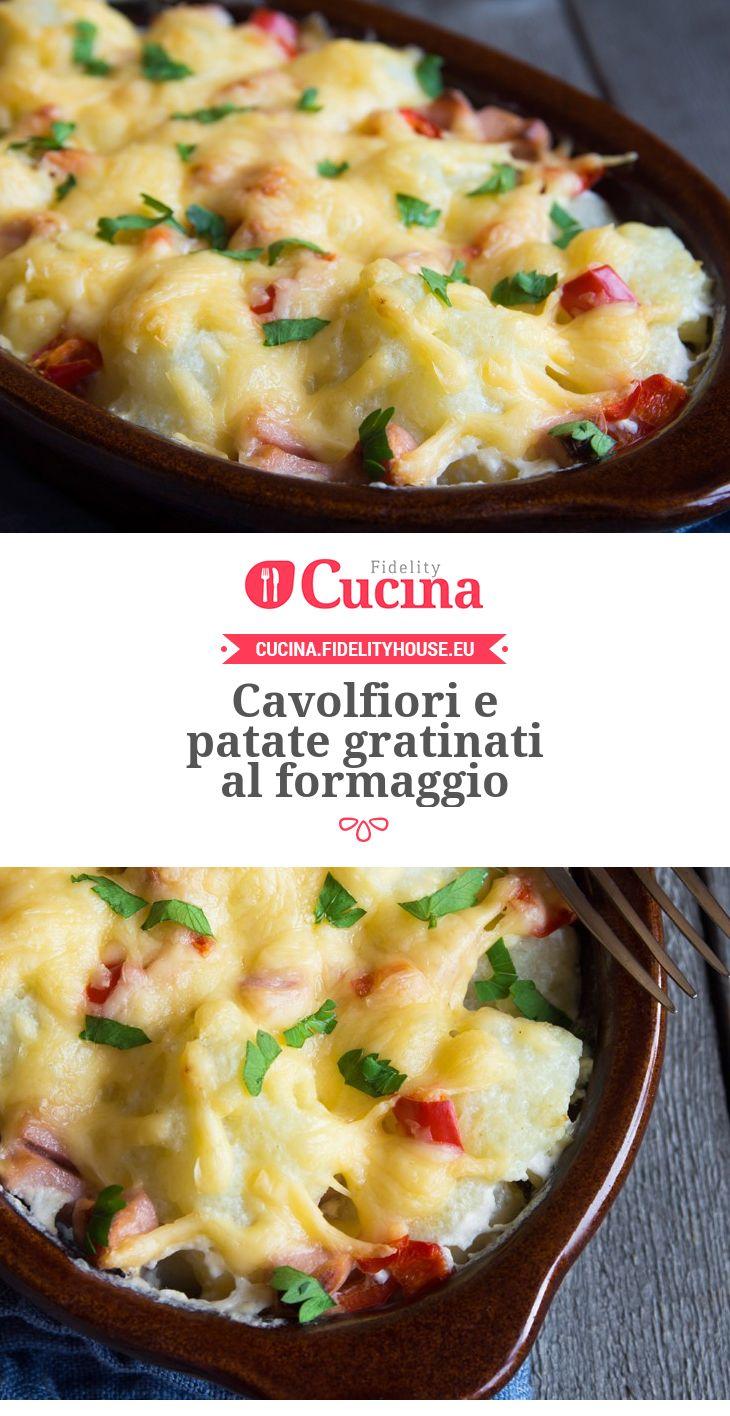 #Cavolfiori e #patate gratinati al #formaggio