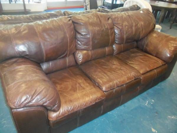 Awesome Real Leather Couches Elegant