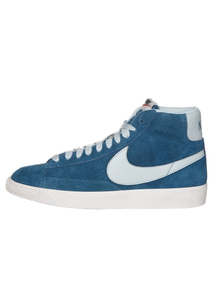Nike BLAZER MID PREMIUM VINTAGE - Baskets montantes Homme bleu,Order  popular and super sneakers