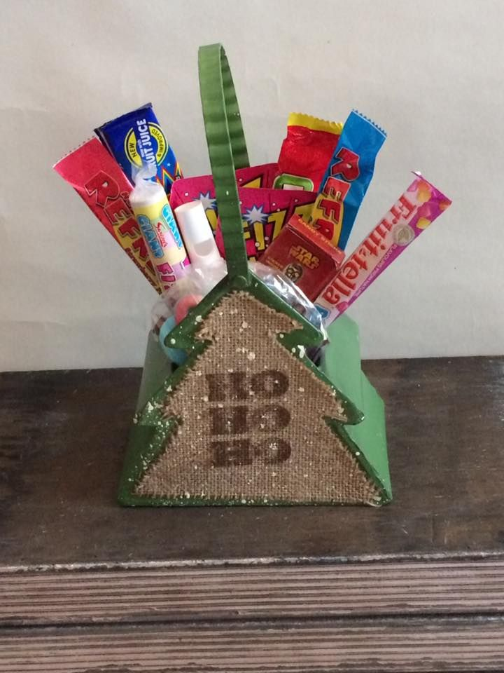 Retro sweets in a stunning Christmas tree tin.  Available from sweet memories.  £6.99 - sweets vary