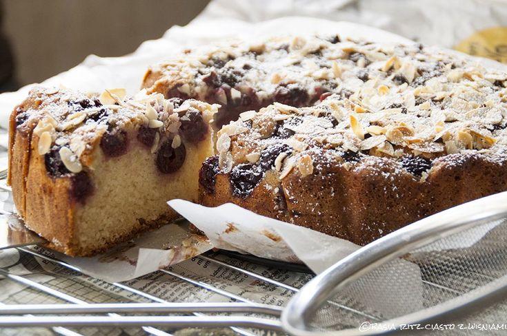 cherry cake. easy &  delicious! / ciasto z wiśniami. prosto i pysznie!