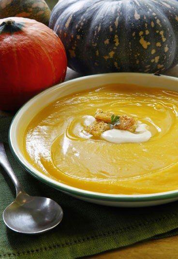 La ricetta per una perfetta vellutata di zucca al formaggio