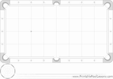 Blank Pool Table Diagram Wiring Schematic Diagram