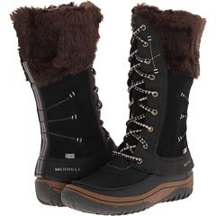 Vegan winter boots  Merrell Decora Prelude Waterproof, warm and wonderful! Being both functional and fashionable these easily zipped up winter boots are fantastic for any winter excursion!!!