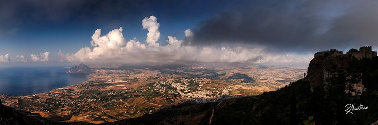 West... Sicily  Follow my INSTAGRAM! Thanks! What I liked the most of my recent trip to Sicily? The light, it was so complex, rich and so peculiar that the real challenge was to capture it all.This is a very large and composite image made of 10 photos, from the Mount Erice, 700mt over the sea level. From here it is possible to see the whole coast till San Vito Lo Capo and the Mount Cofano. If zoomed it is possible to distinguish each single house, home, road, with insane detail. P..