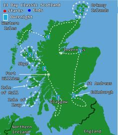 13 Day Classic Scotland - Self Drive Tour