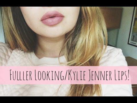 My Fuller Lips Tutorial ♡Kylie Jenner Lips♡