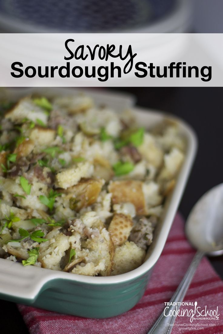 Savory Sourdough Stuffing | The o'jays, Twists and Italian