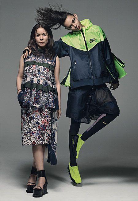 NikeLab×sacai ナイキ×サカイのモードなスポーツスタイルがこの春誕生!