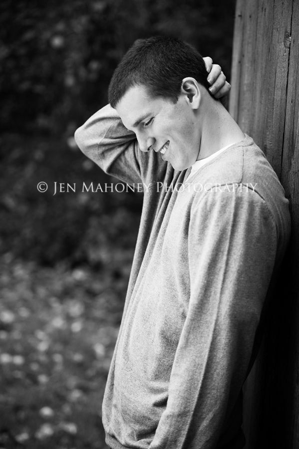 Jen Mahoney, Portland Senior Photography  Male pose.