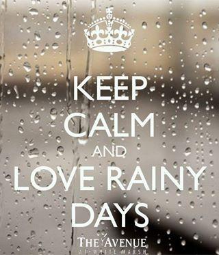 Disfrutando los días de lluvia ♥