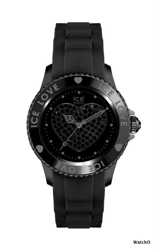 Ice-Watch Ice Love Black Small size  See more of this Collection at:-  http://www.watcho.co.uk/watches/ice-watch/ice-watch-ice-love-watches.html