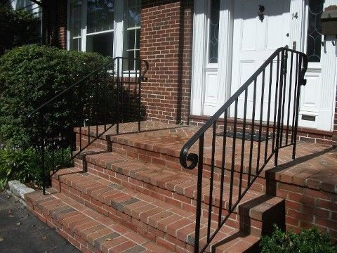 10 best railings for apartment building images on - Exterior wrought iron handrails for steps ...