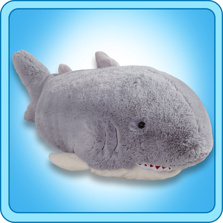 Cute Shark Pillow : 113 best images about Pillow pets on Pinterest Plush, Palace pets and Perry the platypus