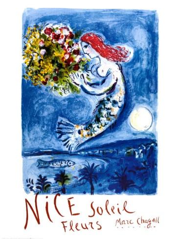 Nice sin flowers  Marc Chagall