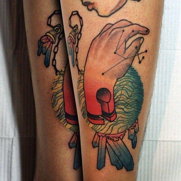 Tatouages colorés de Cody Eich