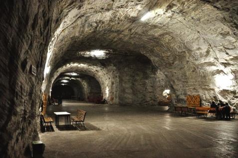 targu ocna salt mine eastern europe salt mines