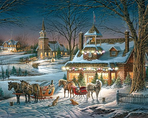 Evening Rehearsals - 1000 pieces - Terry Redlin Jigsaw Puzzle by White Mountain Puzzles