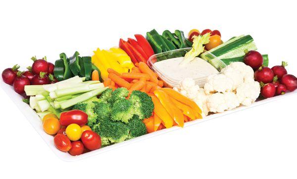 Fresh Vegetable Platter from #YummyMarket