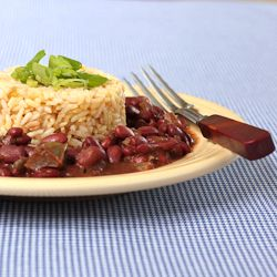 Louisiana Red Beans and Rice \u2013 smoky, spicy, vegan. | See more