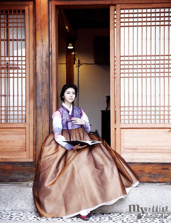 Hanbok, korean traditional clothes / My wedding / 내 님 기다리는 시간 / 비단.빔