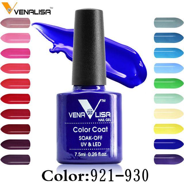 Venalisa 60 Gel uv Color de Uñas de arte belleza del clavo de DIY diseño de la pintura led 7.5 ml Esmalte de uñas de arte esmalte de uñas de gel uv barniz de laca gel