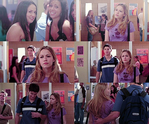 Such a sweet scene of Nathan and Haley. I love them and the other characters as well.