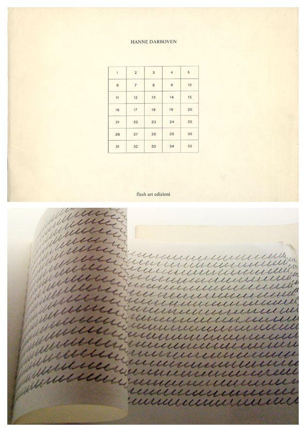 Information / Hanne Darboven, 1973.