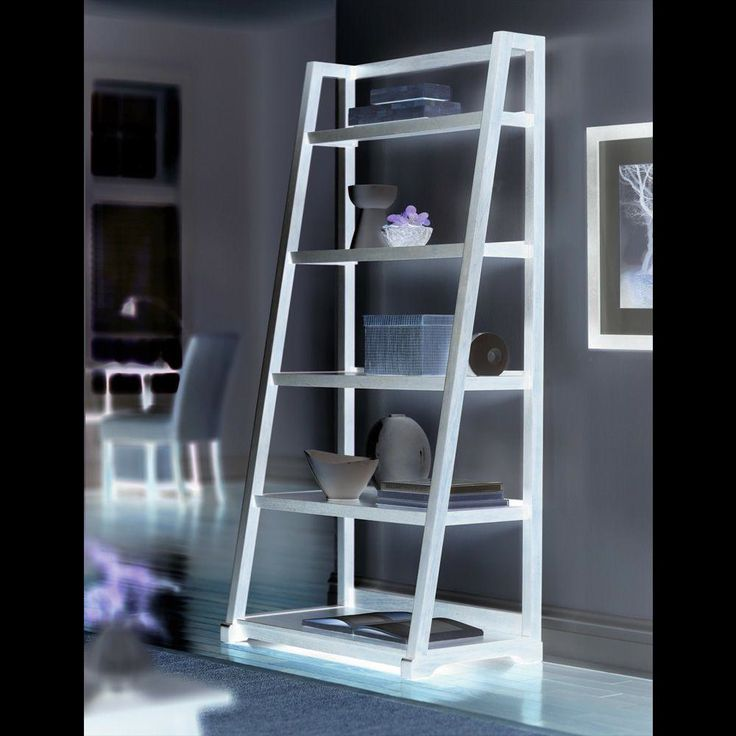 Pottery Barn Ladder Bookcase - Best Furniture Gallery Check more at http://fiveinchfloppy.com/pottery-barn-ladder-bookcase/