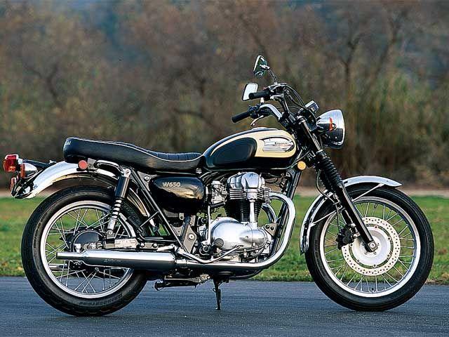 Classic Kawasaki W650
