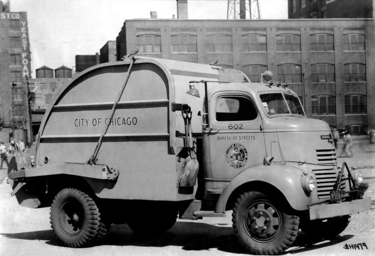 City of Chicago - Heil garbage truck. www.heil.com
