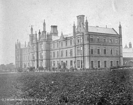 Barnsley workhouse St Helens hospital