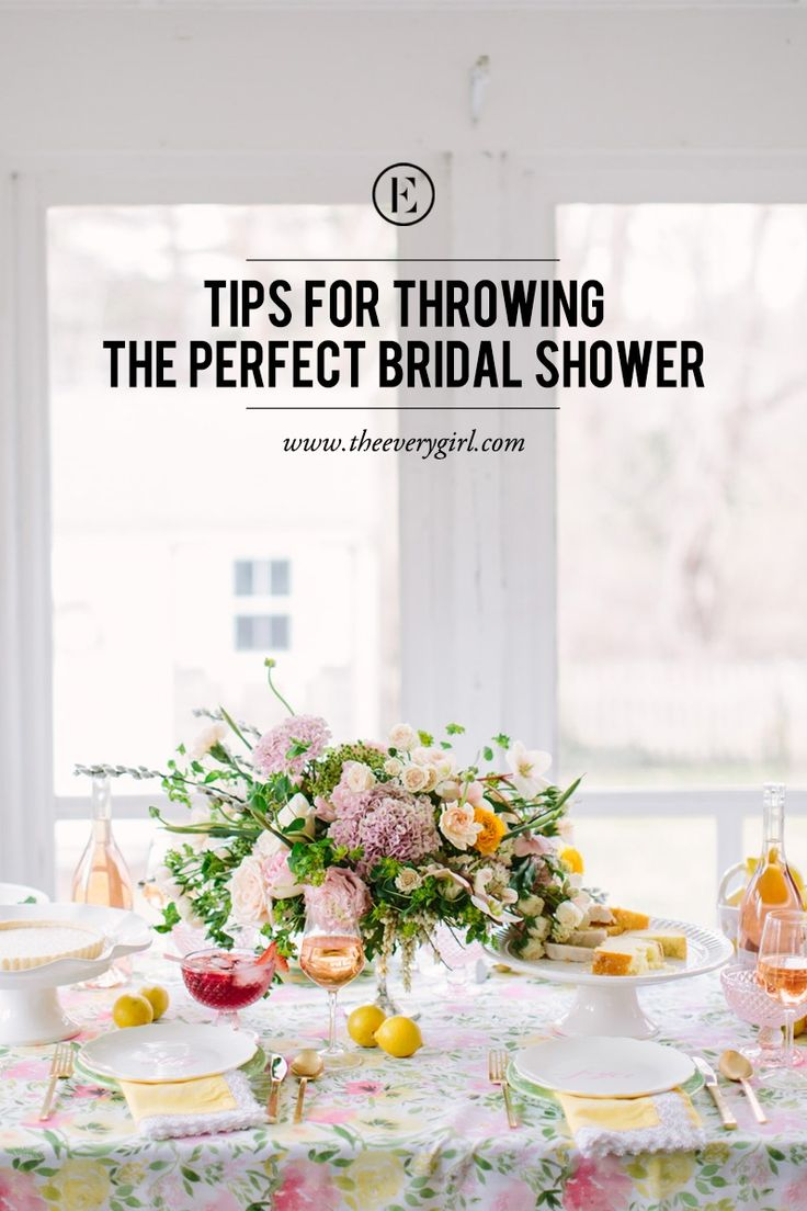 5 Tips for Throwing the Perfect Bridal Shower #theeverygirl @homegoods #makehomeyours #homegoodshappy