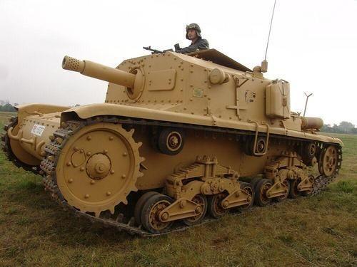 Italian Fiat Ansaldo 75/18 M13/40 Semovente 75mm